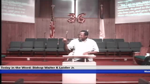 20191120 WED 7PM SPIRITUAL PERFECTION BORN AGAIN IN A HOT MESS BISHOP WALTER K LAIDLER J