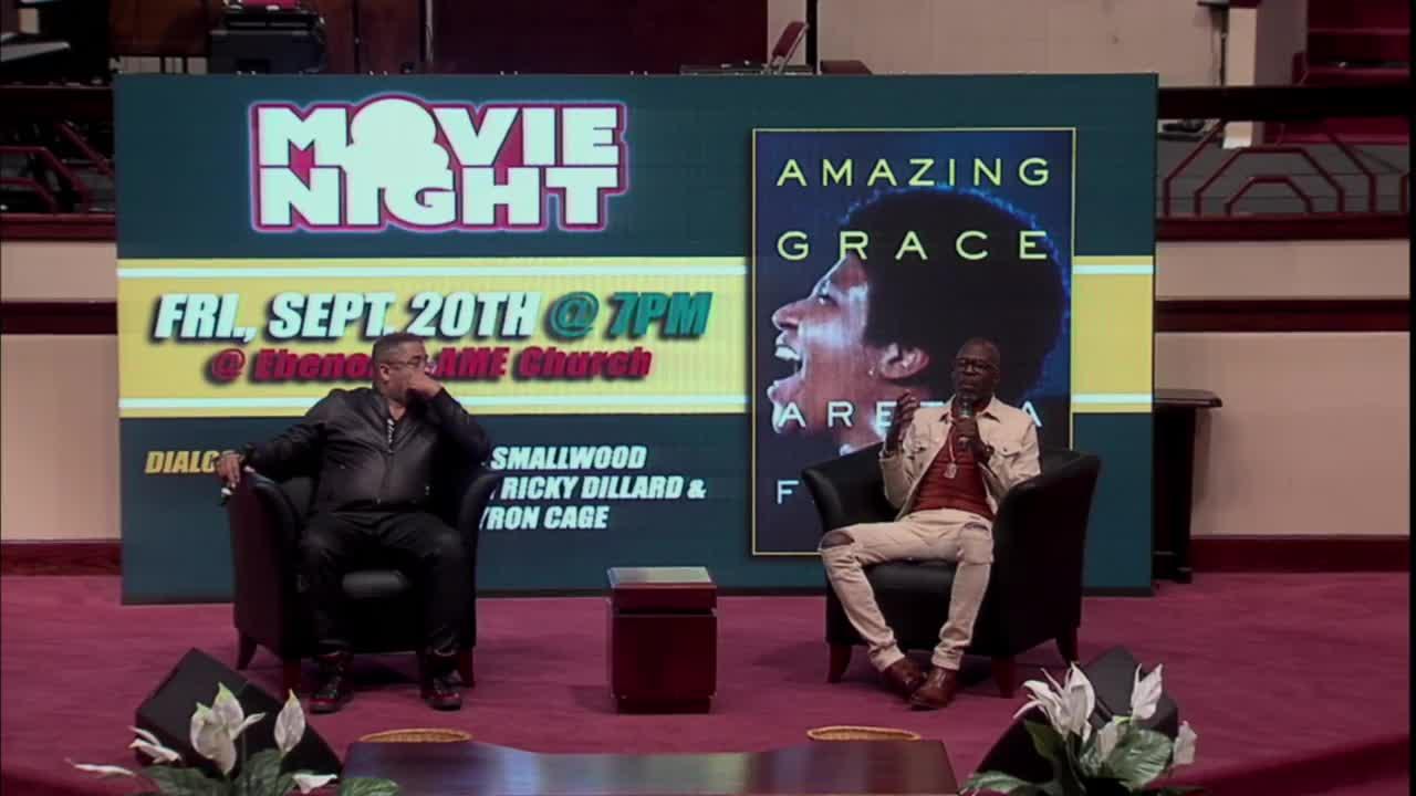 Sep 20 2019 Amazing Grace  Aretha Franklin Movie Night