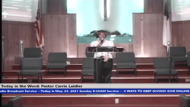 210523 Sun HOP, Faith and Belief Are Not The Same, Pastor Carrie Laidler