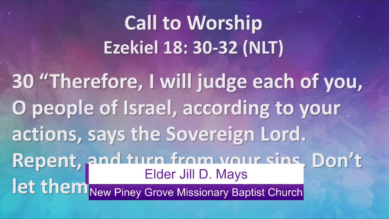 New Piney Grove Missionary Baptist Church  on 23-May-21-13:50:55