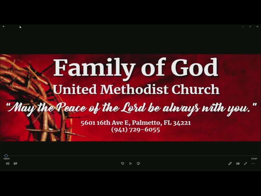 Family of God TV on 30-May-21-13:48:53