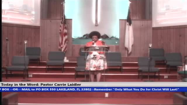 210606 Sunday HOP 8:30am, Faith And Belief Are Not The Same!!! Pt.2, Pastor Carrie L Laidler