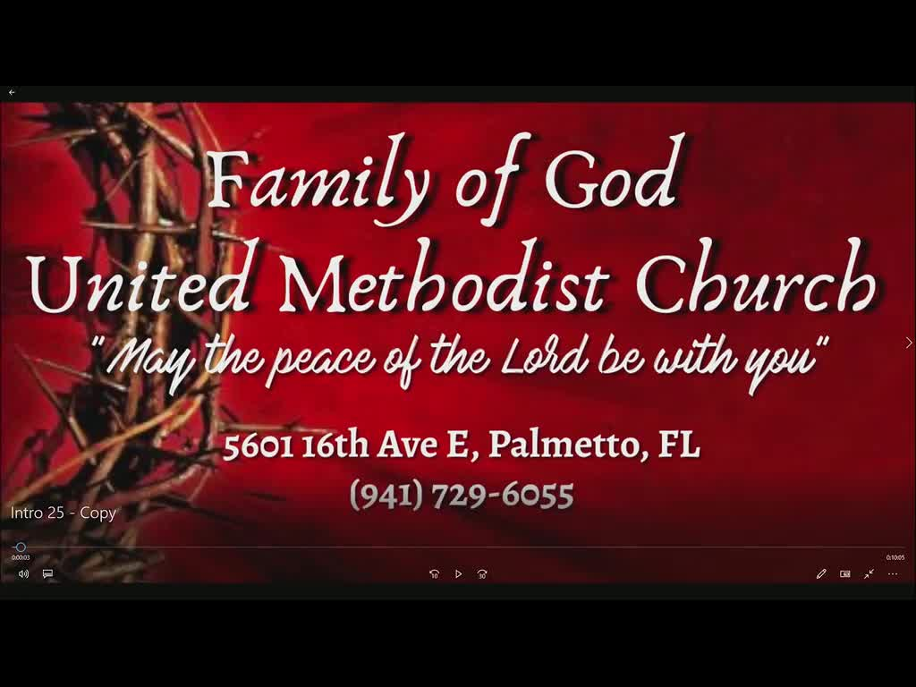 Family of God TV on 20-Jun-21-13:53:11