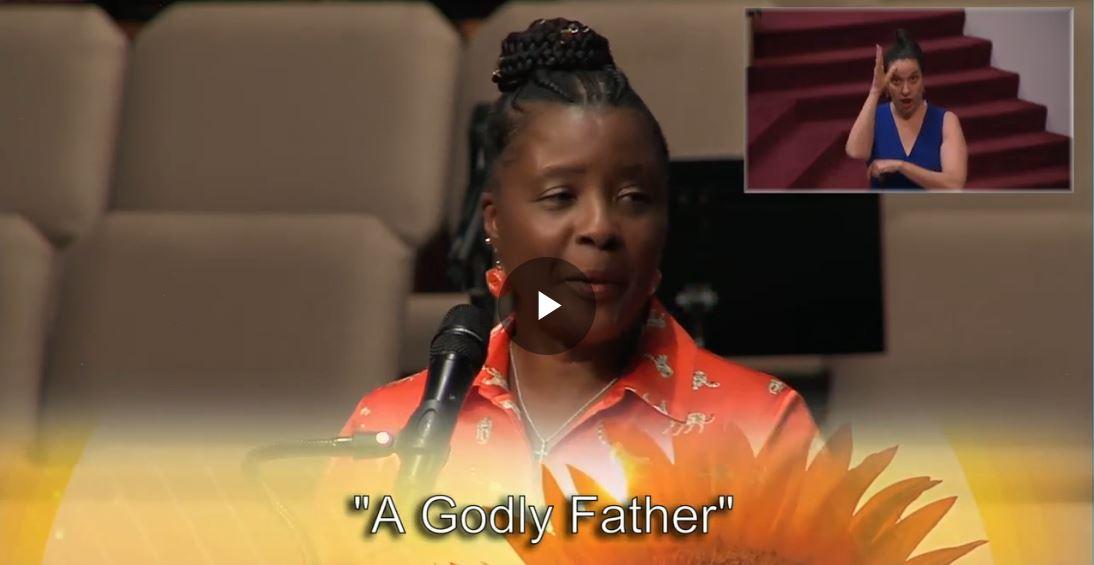 A Godly Father, Asst Pastor Rev. Dr. Sandra K. James, June 20, 2021 @ 11am