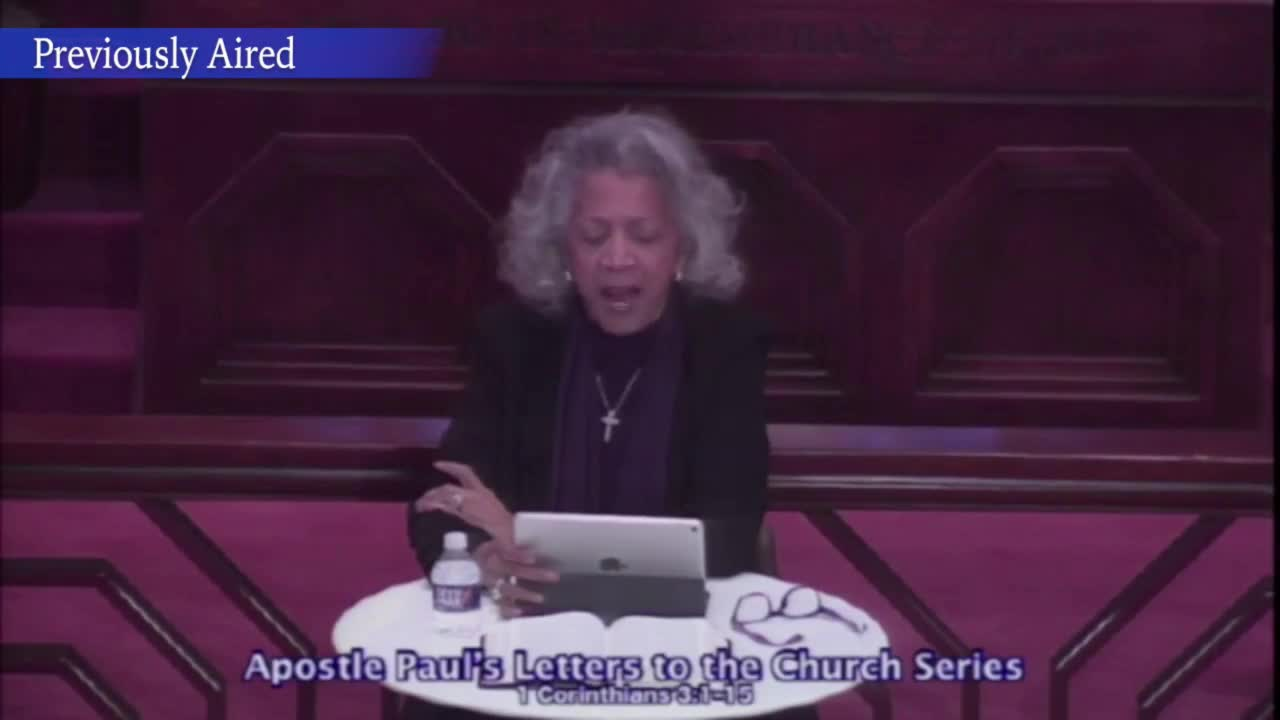 Apostle Paul's Letters to the Church Bible Study Series - June 30, 2021 rebroadcast