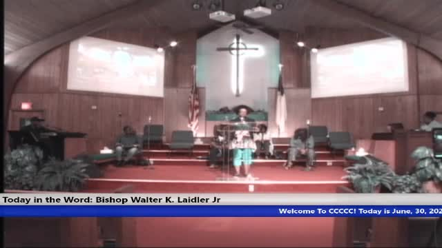 210630 Wed 7pm, 14 Things That We Can Do,Spinning And How We Manage Money Bishop Walter K Laidler Jr