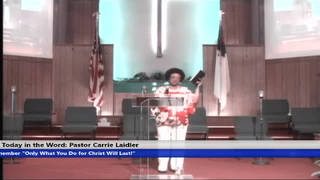 210704 Sun, 830am , I Am Still As Strong Today Part 2, Pastor Carrie Laidler