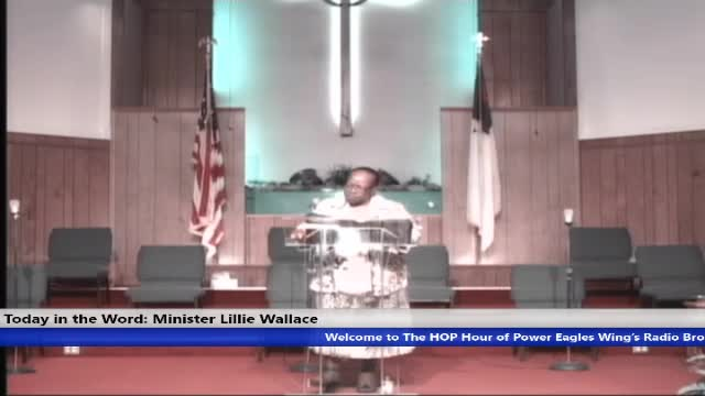 20210711 Sun 830am HOP Service Minister Lillie Wallace The Move of the Holy Spirit - 11 July 2021 - 10-01-48 AM