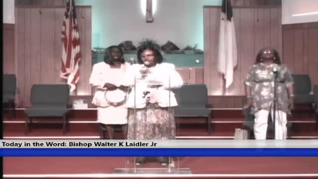 210711 Sun, The Church: Who We Are, Bishop Walter K. Laidler