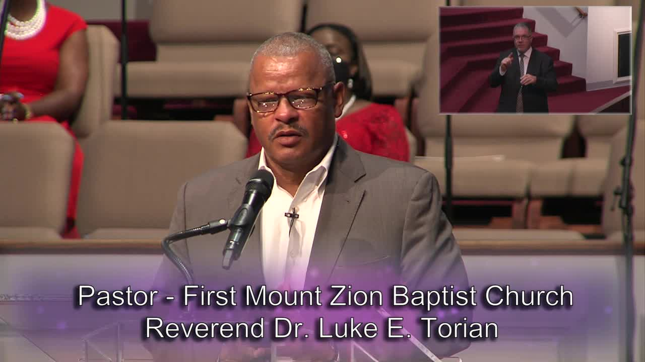 Pastor Luke E. Torian, July 11, 2021 @ 11am