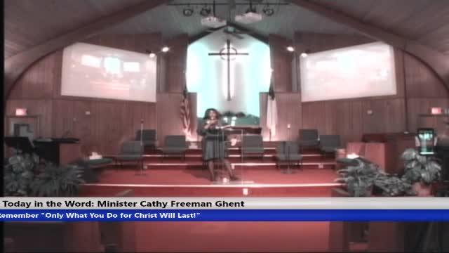 210801 Sun 830am HOP, Doors, Minister Cathy Ghent
