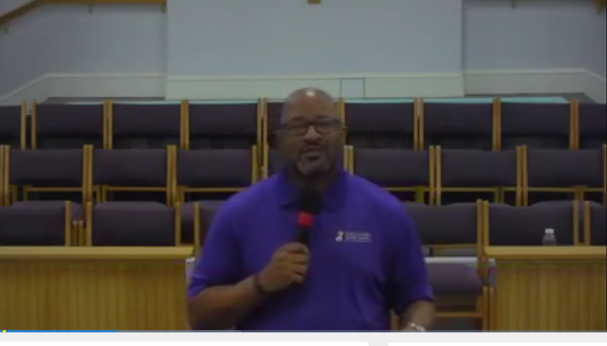 8/1/2021, Fear of Tragedy: Preparation for Peril, Pastor Taft Quincey Heatley