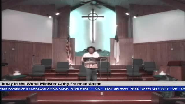 20210808 Sun HOP 830am We Believe Minister Cathy Freeman Ghent - 08 August 2021 - 08-30-15 AM