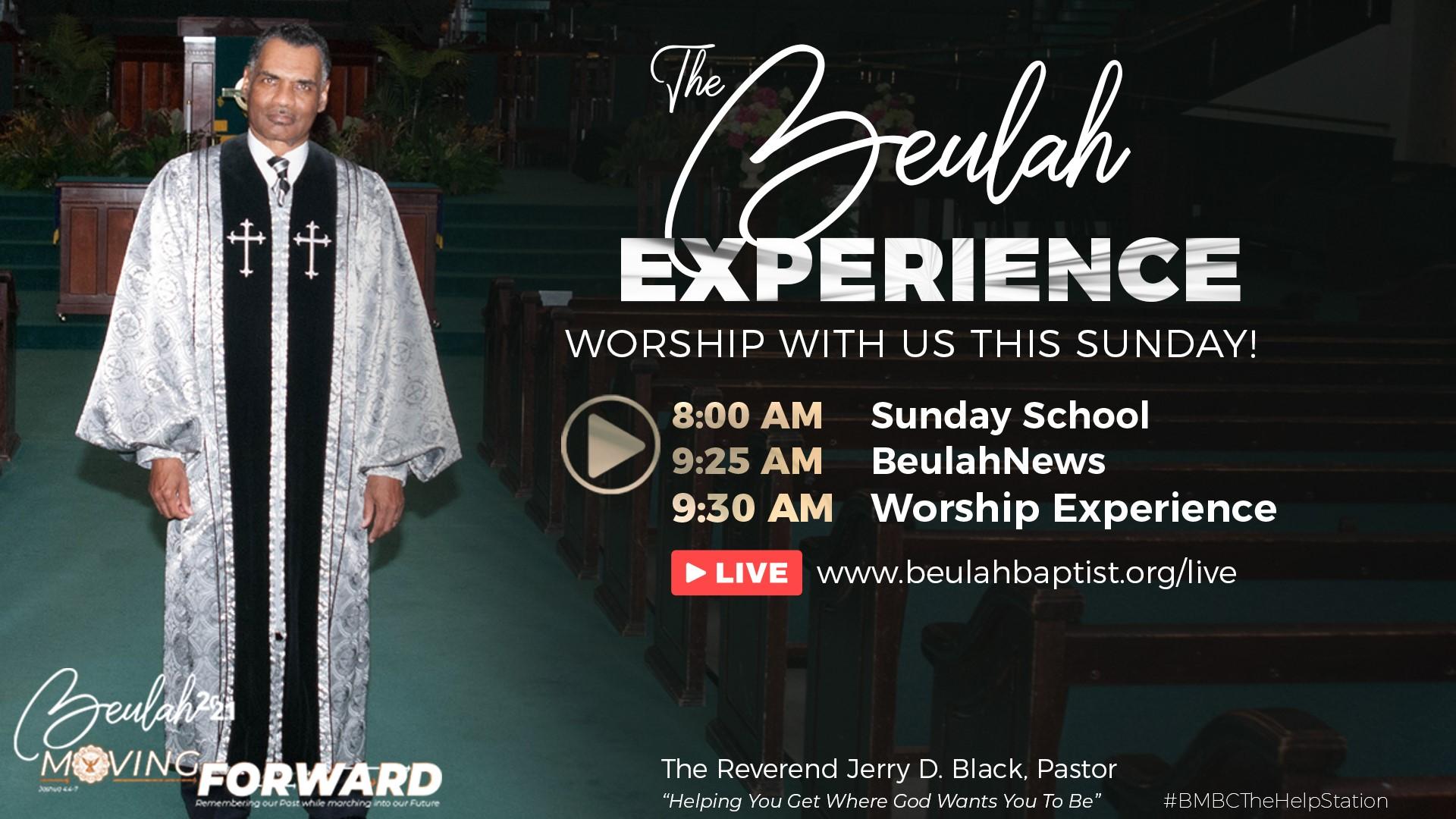 BMBC: Worship Service, August 8, 2021