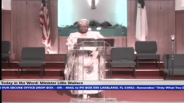 210822 Sun HOP, The Faith Of The Church Part 2, Minister Lillie Wallace