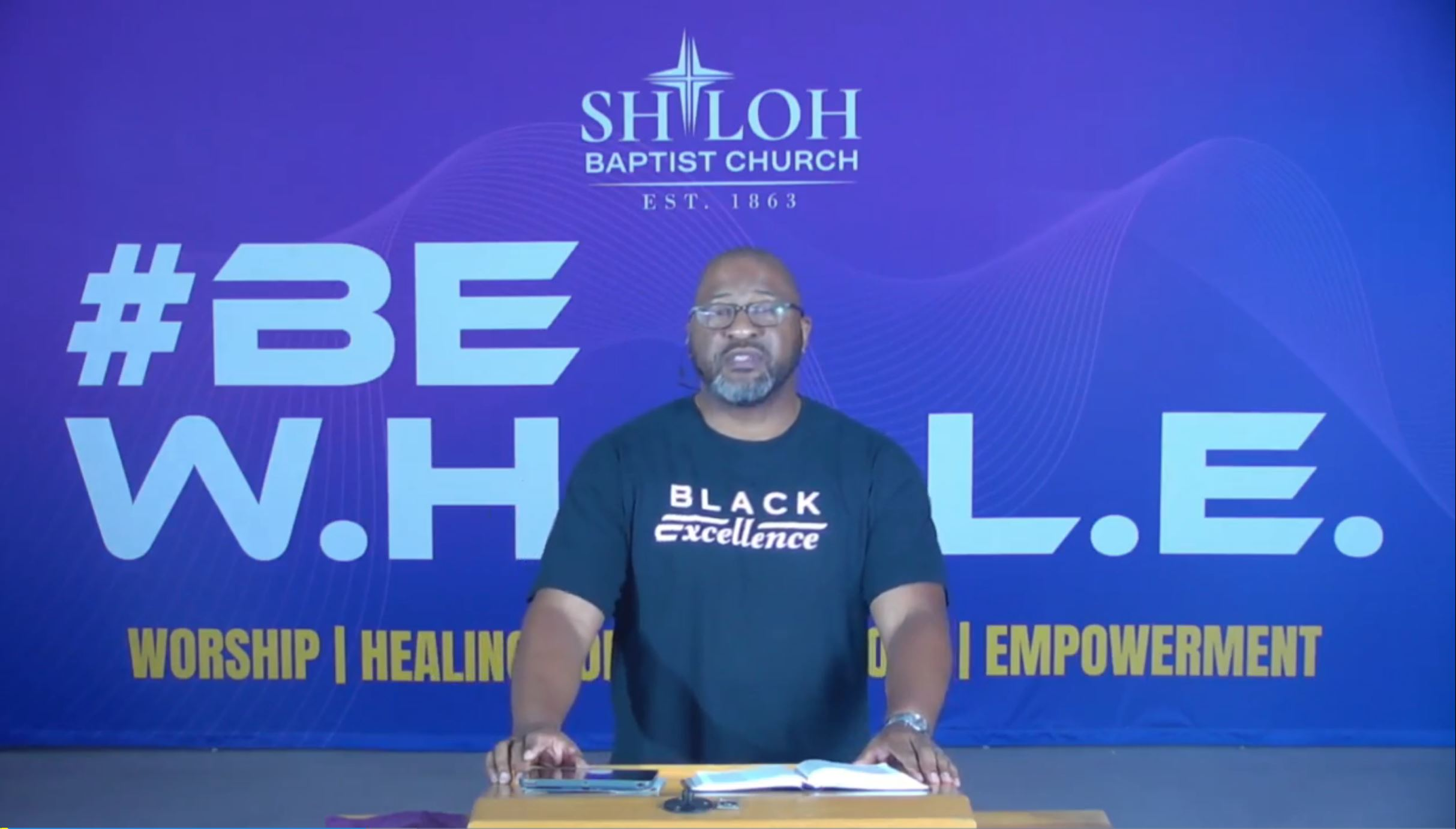 8/22/2021, Winning Over Worry: The Antidote to Worry, Pastor Taft Quincey Heatley