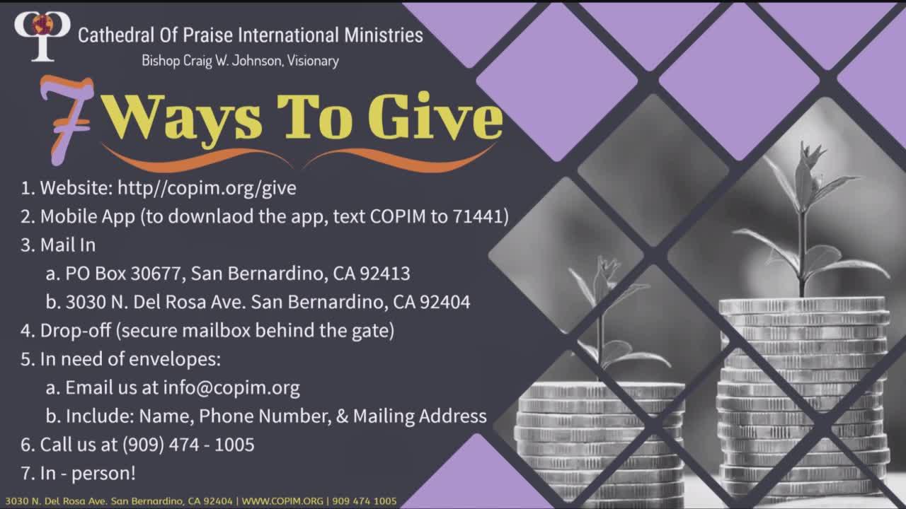 COPIM LIVE Services  on 25-Aug-21-7:00: