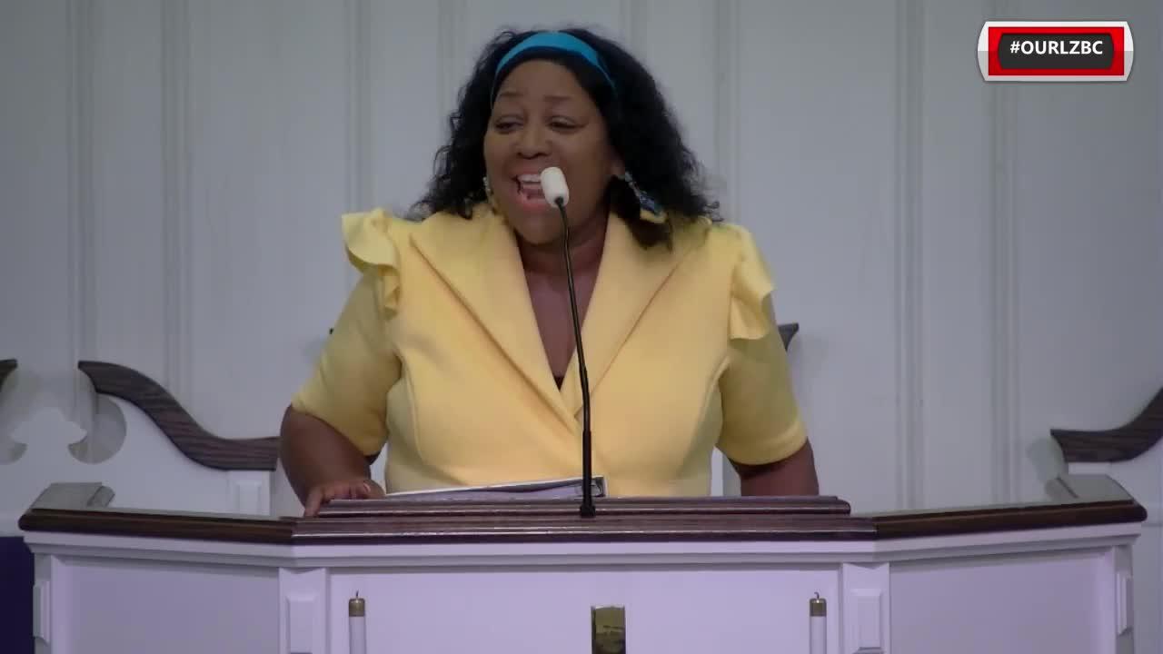 Little Zion Baptist Church TV  on Aug 29 2021 Min Thonya Ryan I'm Moving Forward