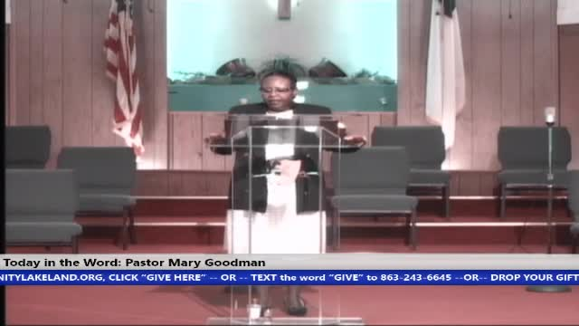 20210905 Sun HOP 830am, Having the Knowledge of God: Do You Know God? Pastor Mary Goodman