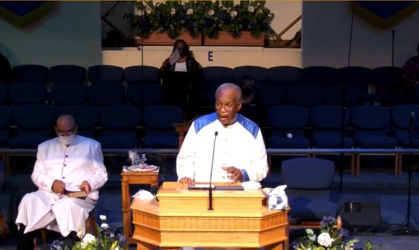 A Hunger For God Rev Dr. Willie E. Robinson
