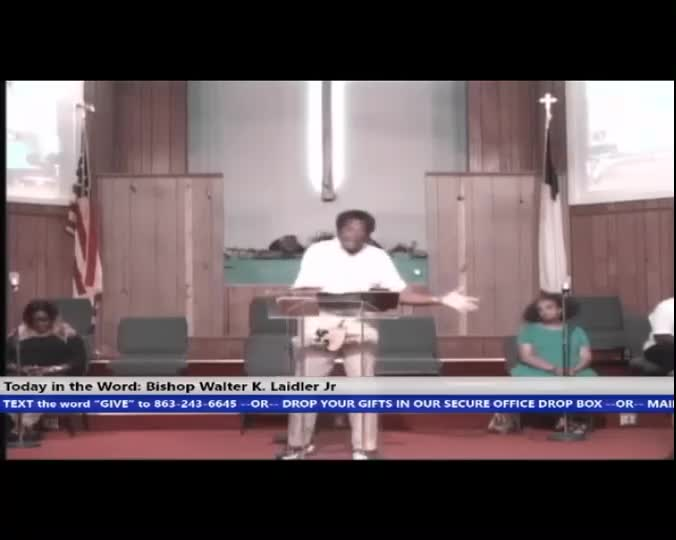 210512 Wed, 19 Ways To Know God Is Working In Your Life, Bishop Walter K- Laidler Jr