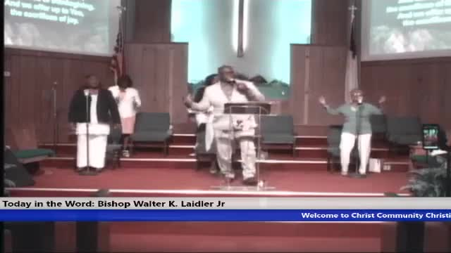 210516 Sun (Full Service), Faith in God Gal 6 verse 5, Faith in God means Faith is at Work when You are! If You're not working Faith isn't Either!--- Bishop Walter K- Laidler Jr