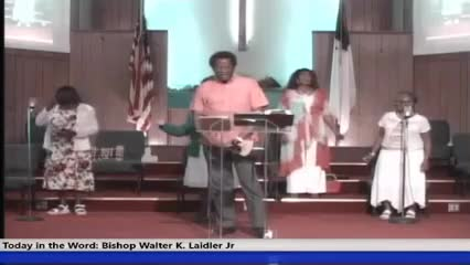 210530 Sun 10am, If You're Happy and You Know It The Black Community - Faith in God for Another Black Wall Street Where You Live! , Bishop Walter K- Laidler Jr