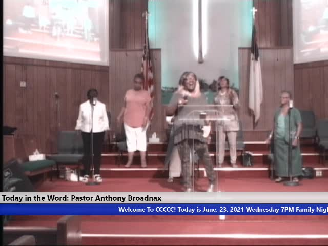 210623 Wed, 7pm Falling In Love, Pastor Anthony Broadnax