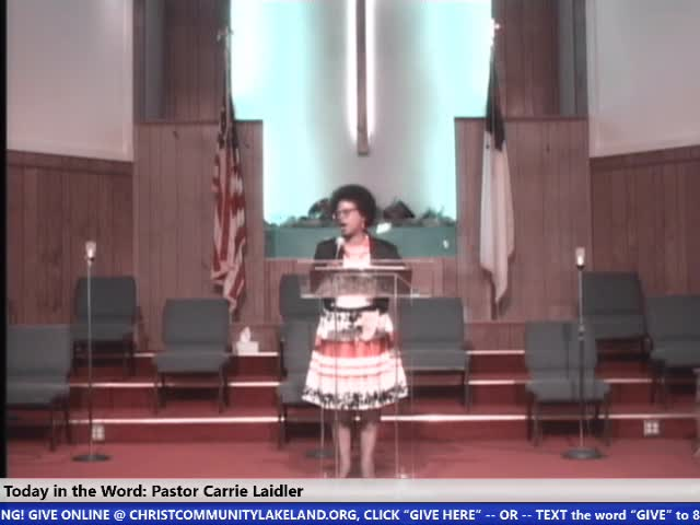 210627 830am HOP, I Am Still As Strong Today Part 2, Joshua 14 11, Pastor Carrie Laidler