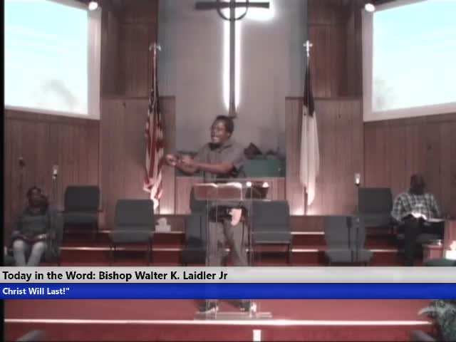 210630 Wed 7pm, 14 Things That We Can Do - Spending And How We Manage Money, Bishop Walter K Laidler Jr