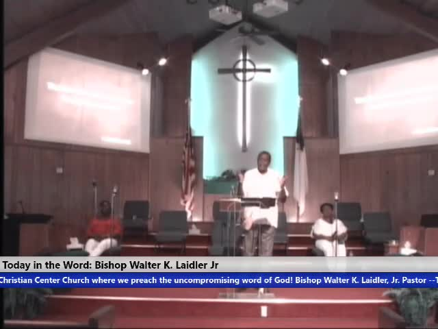 210704 Sun 10am, Buying And Selling - I Have The Blessing Psalms 115:2, Bishop Walter K- Laidler Jr