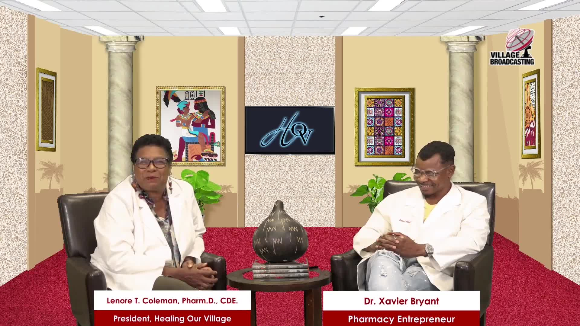For Your Health with Dr- Lenore T- Coleman interviewing Dr- Xavier Bryant topic COVID 19 Conversation 07-17-2021