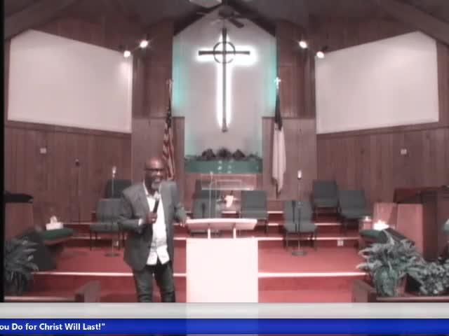 20210721 Wed, Let's Talk About Jesus, Matthew ch16 vs18, Pastor John Ware