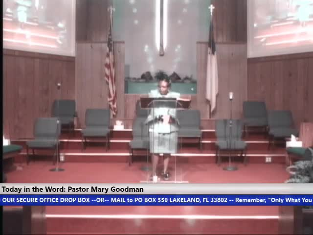 210728 Wed 7pm, You Are Called Out an You Are Required, Pastor Mary Goodman