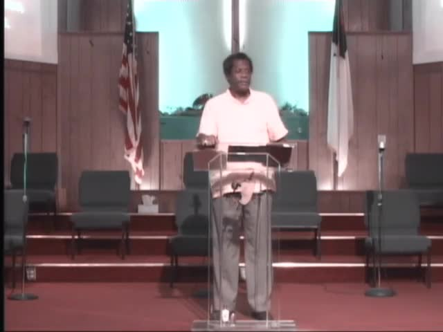 210801 Sun, People Are Not Your Problem - Your Heart Determines Your Destiny, Bishop Walter K- Laidler Jr