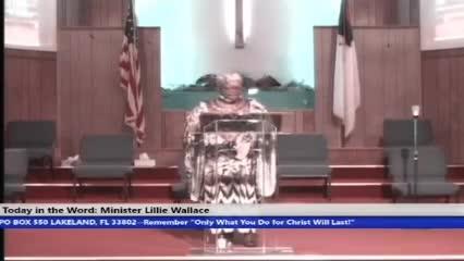 210815, Sunday HOP, The Faith of The Church, Minister Lillie Wallace