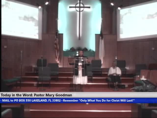 20210905 Sun 10am, Having the Knowledge of God- Do You Know God Part 2,  Pastor Mary Goodman