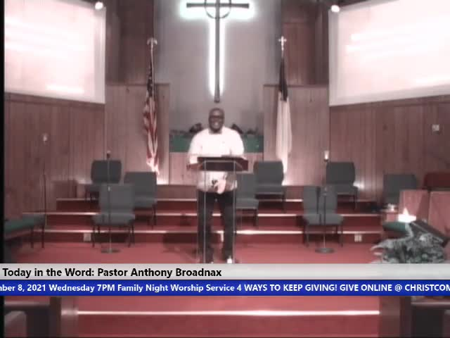 210908 Wed 7pm, Noble Courage, Pastor Anthony Broadnax
