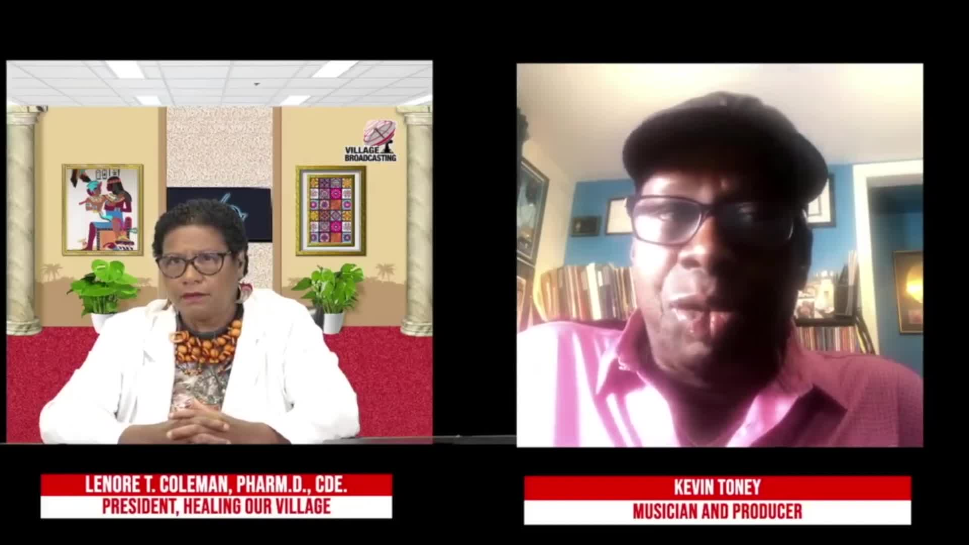 For Your Health with Dr- Coleman interviewing Kevin Toney topic COVID 19 Conversation 8-14-2021