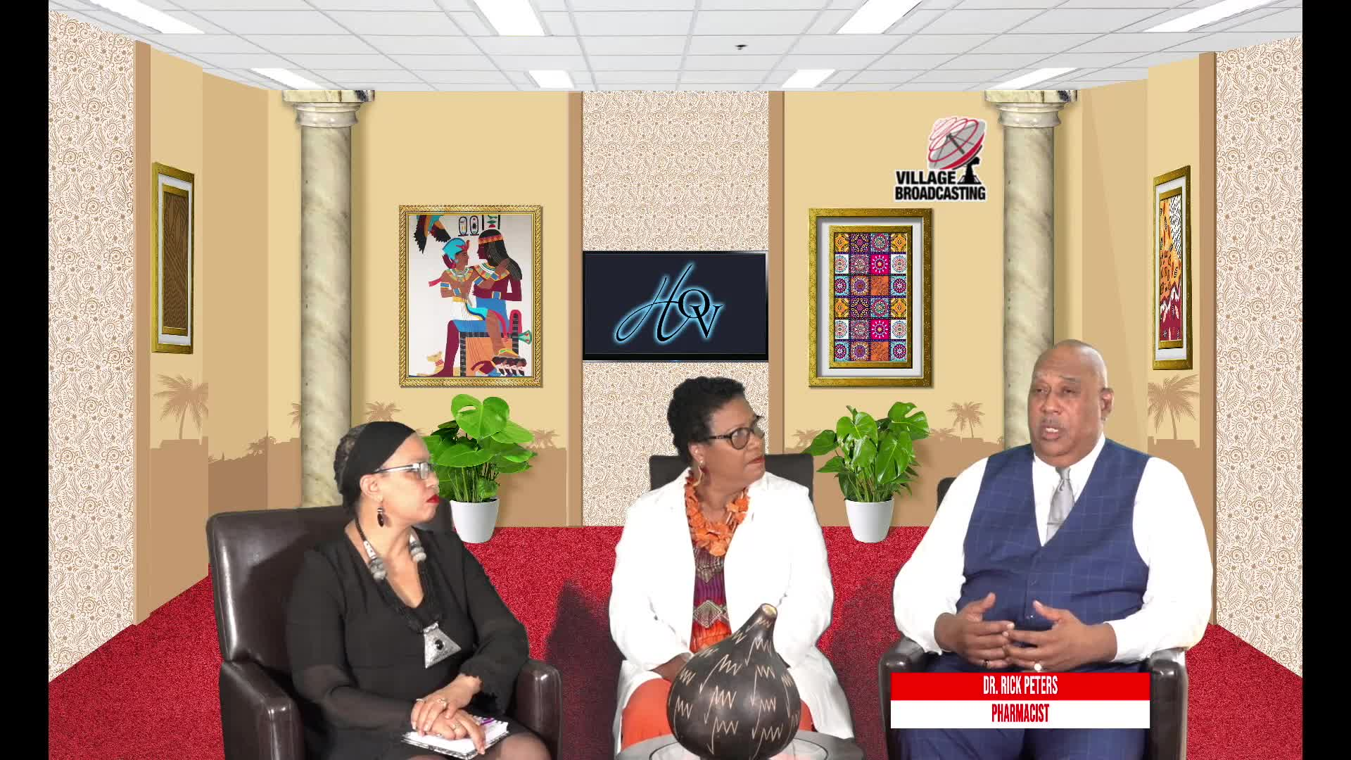 For Your Health with Dr- Coleman interviewing Drs- Terri and  Rick Peters topic COVID 19 Conversation 9-11-2021