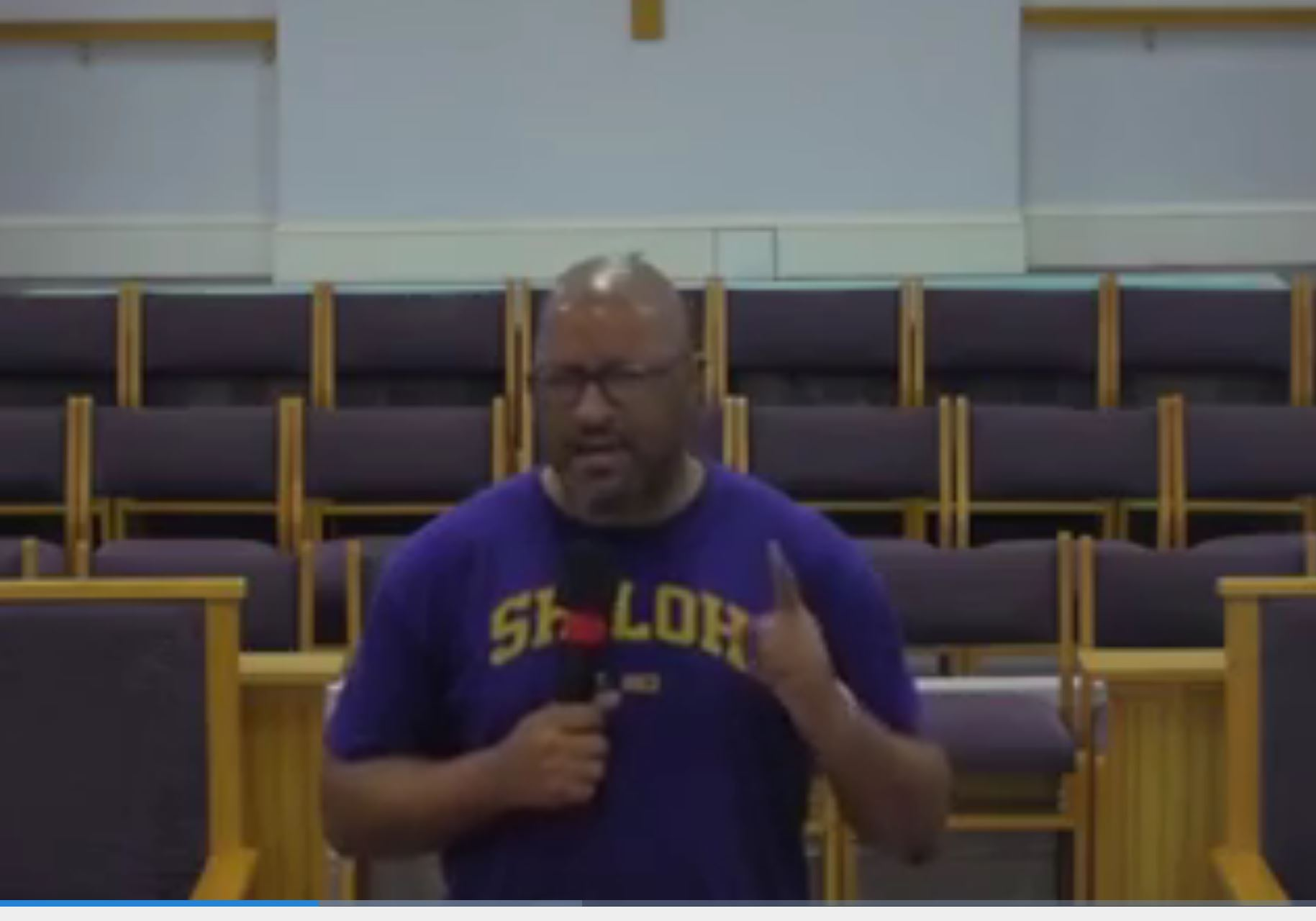 9/19/2021, Back to Church Sunday, Overcoming Fear of the Unknown, Pastor Taft Quincey Heatley