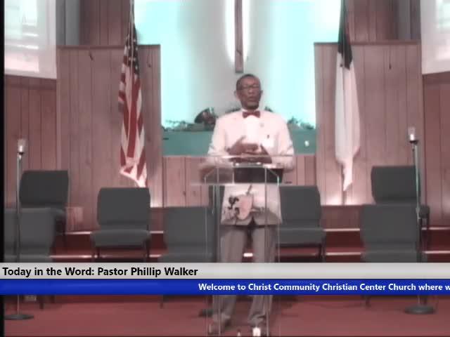211003 Sun, The Church Where Are We, Pastor Phillip Walker_
